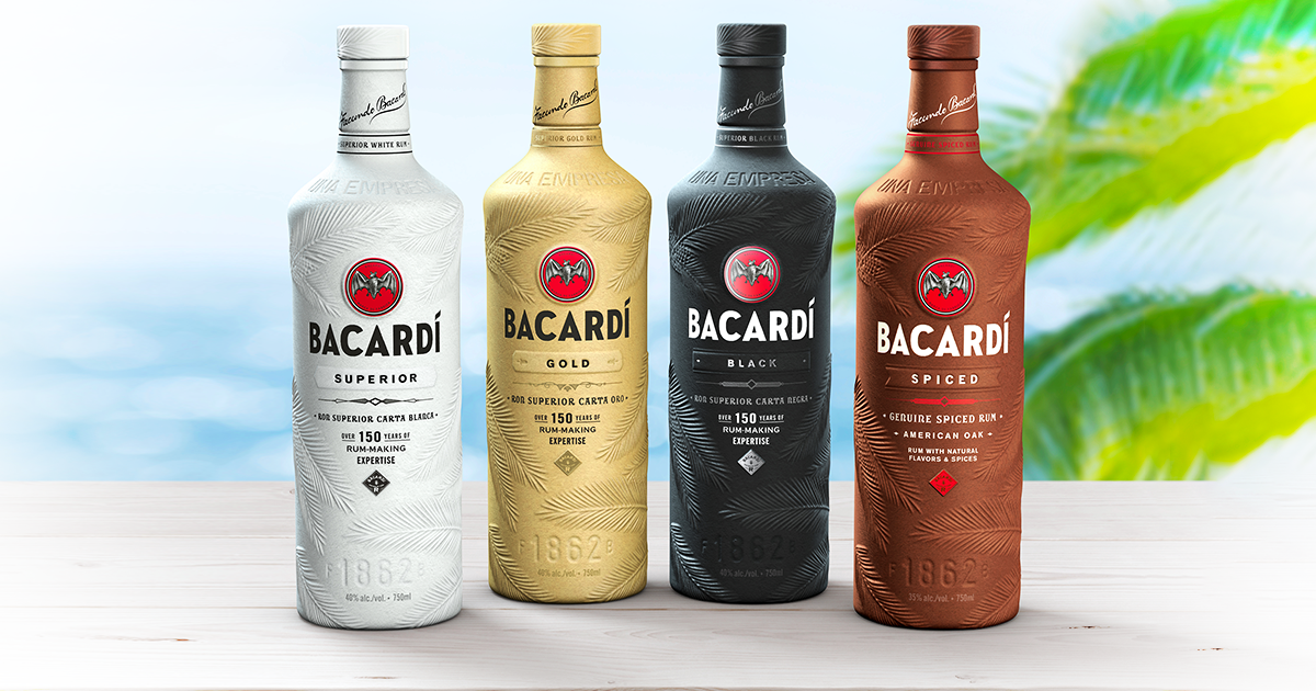 BACARDÍ predstavuje nové ekologické fľaše.