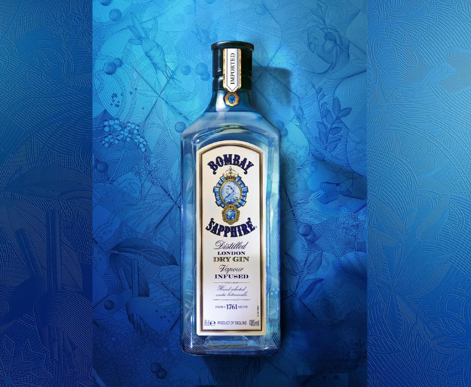 BOMBAY SAPPHIRE: Gin vo fľaši nie je mačka vo vreci