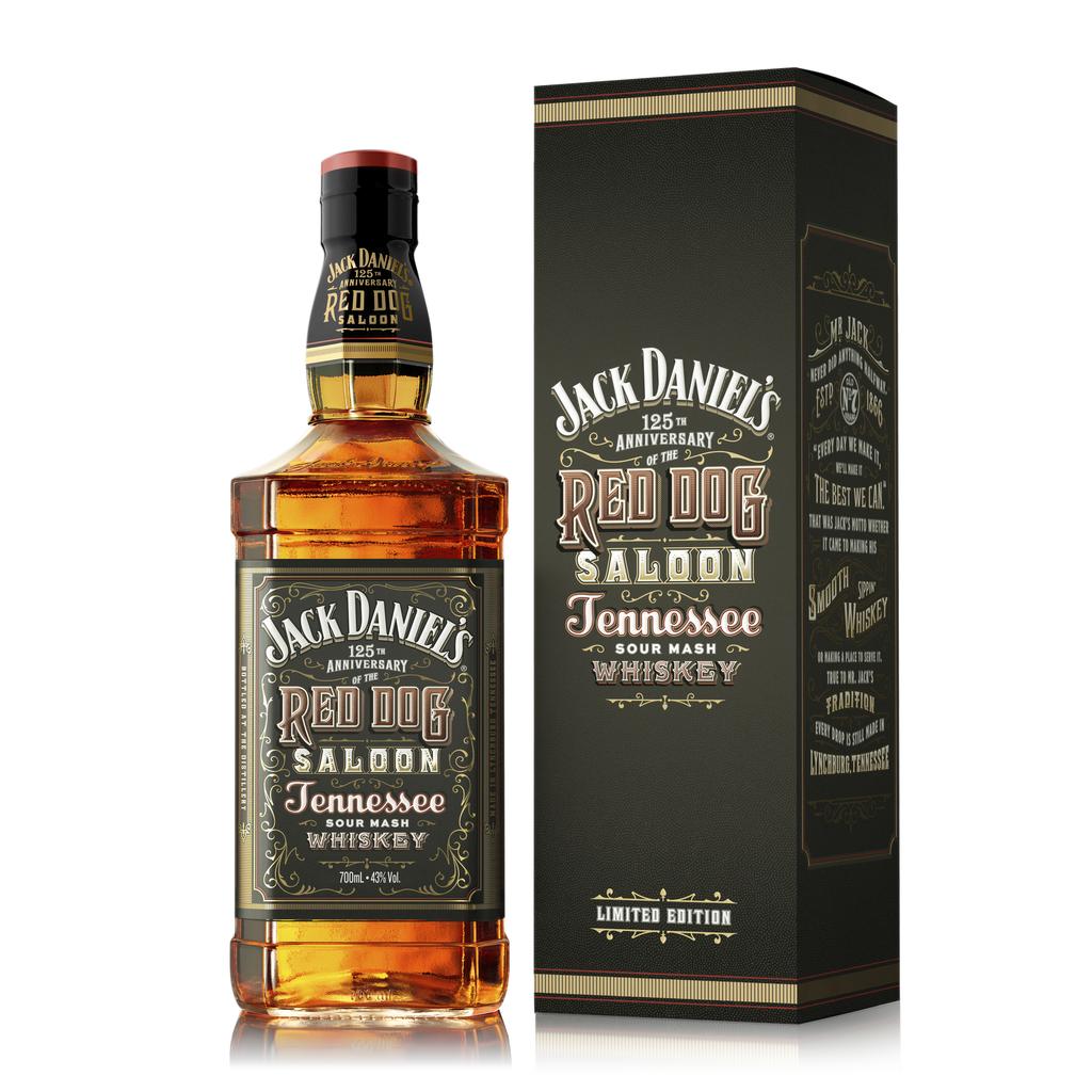 JACK DANIEL´S Red Dog Saloon – špecialitka, ako sa patrí