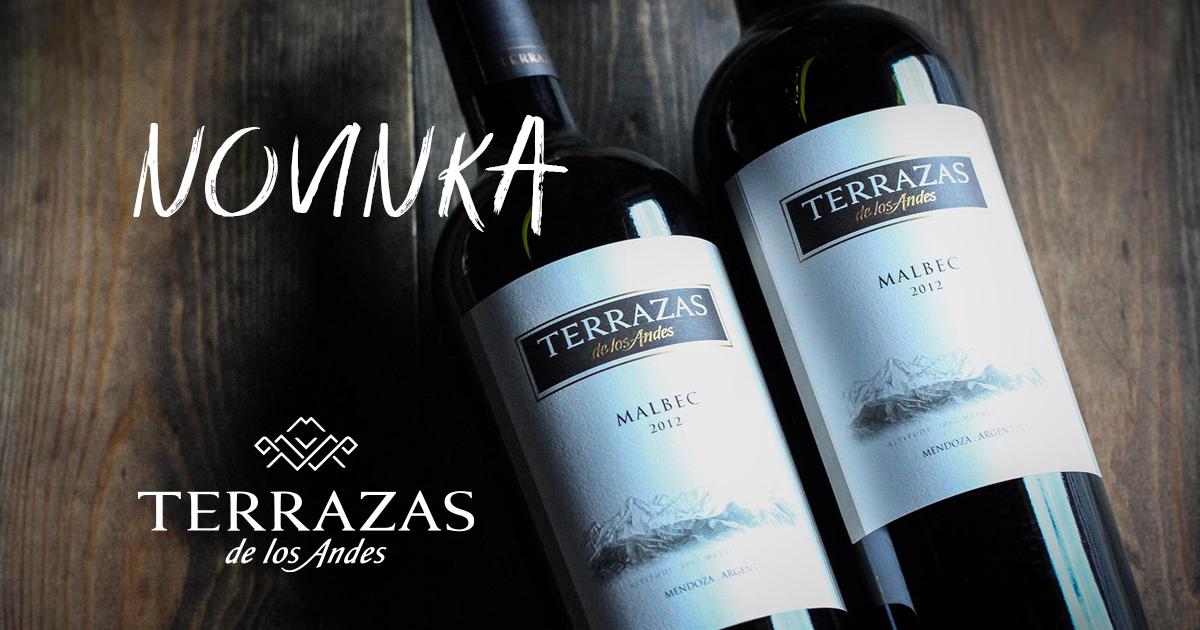 TERRAZAS DE LOS ANDES: Argentínske vína v KOFT-e