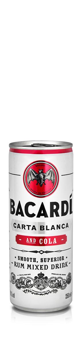 BACARDÍ Carta Blanca & Cola