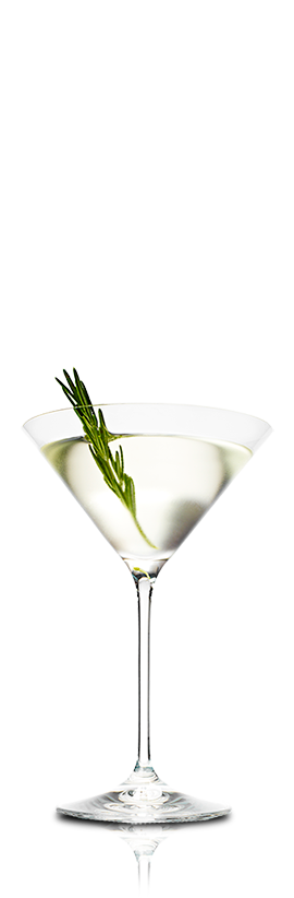 PEAR AND ROSEMARY MARTINI
